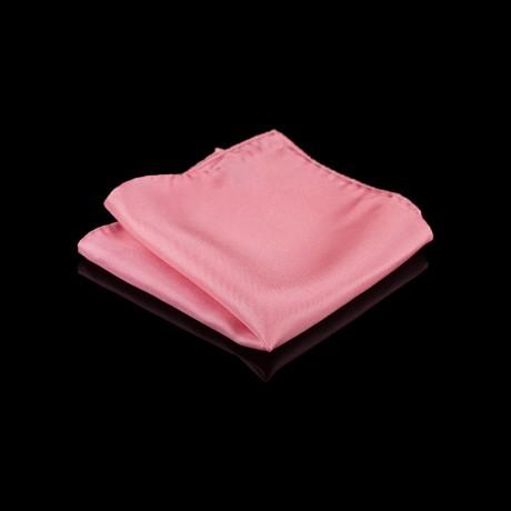 Klasikinė rožinė šilkinė fantazija