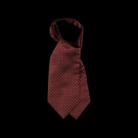 Burgundy spalvos klasikinė kaklaskarė