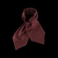 Jauki šilta kaklaskarė burgundy spalvos