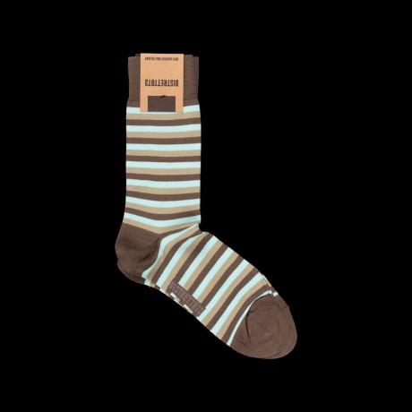 Dryžuotos vyriškos kojinės