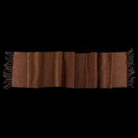 Klasikinis rudas vilnonis šalikas