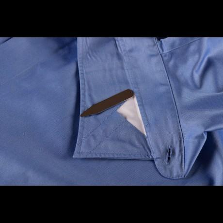 Marškinių apykaklės kauliukai sidabro spalvos